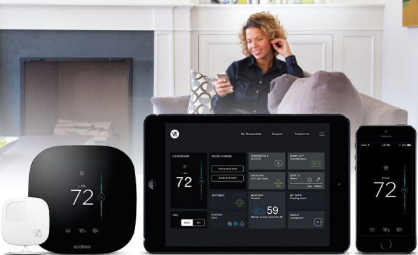 Thermostat intelligent Ecobee3