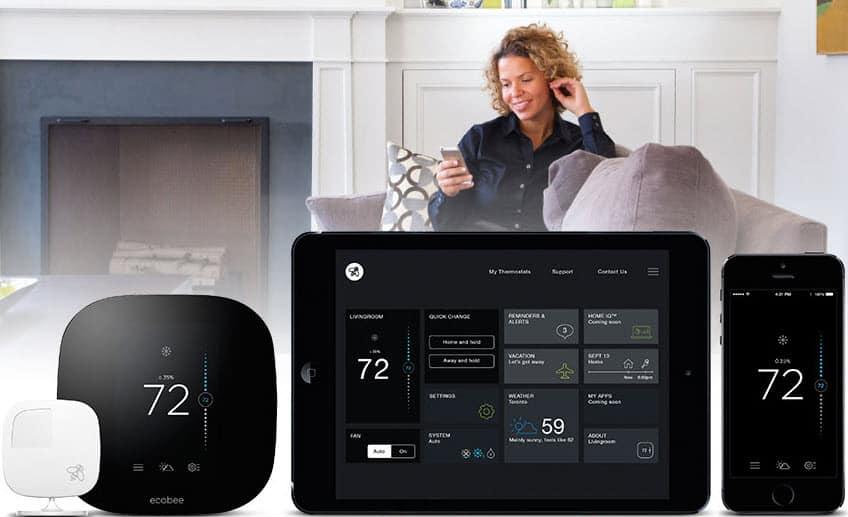 Thermostat intelligent Ecobee3